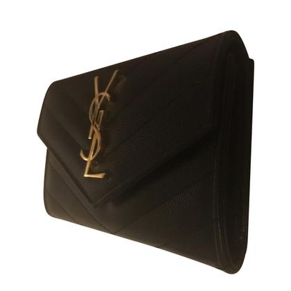 Yves Saint Laurent Geldbörse aus Leder