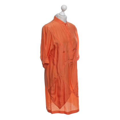 Stella McCartney Silk dress in orange