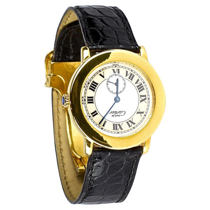 "Cartier Pm ""Must de Cartier Vermeil Ronde II"""