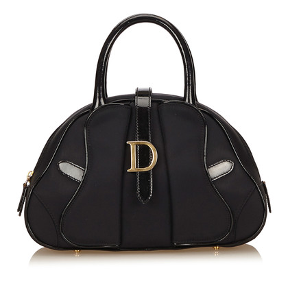 "Christian Dior ""Saddle Bowling Bag"""