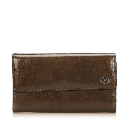 Chanel Lackleder-Geldbörse