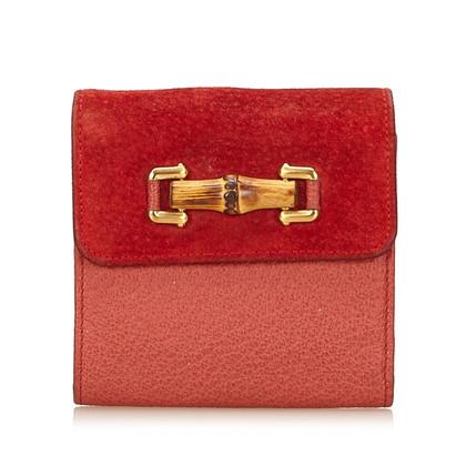 Gucci Suede wallet