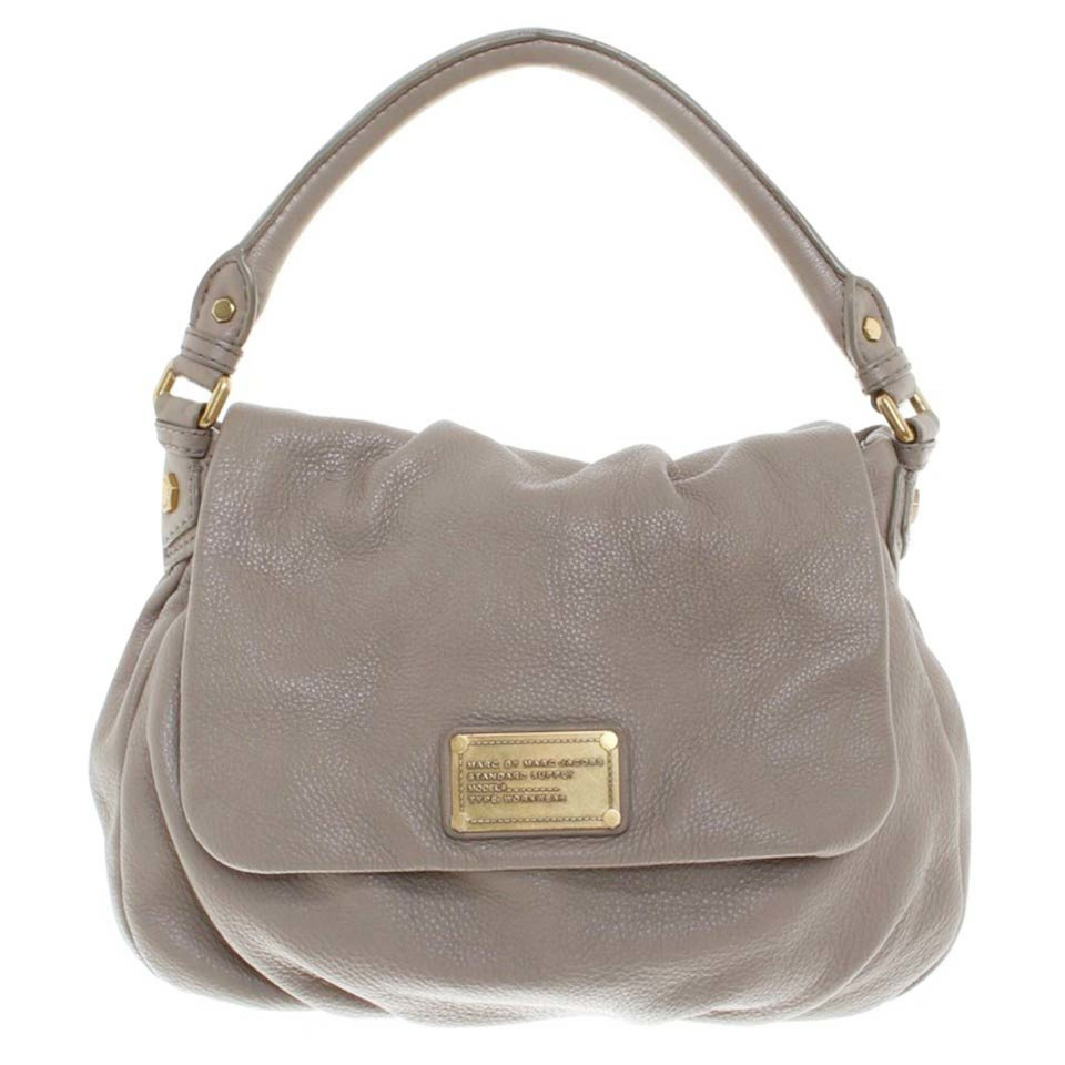 marc by marc jacobs handtasche in taupe second hand marc by marc jacobs handtasche in taupe. Black Bedroom Furniture Sets. Home Design Ideas