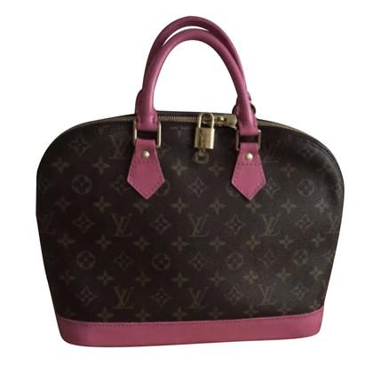 Louis Vuitton Alma rivestito di rosa