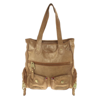 Marc Jacobs Gold-colored shopper