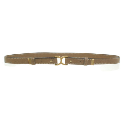Chloé Leather belt in light brown