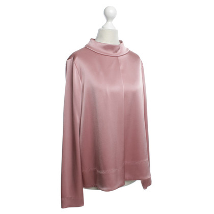 Escada Satijnen blouse in roze