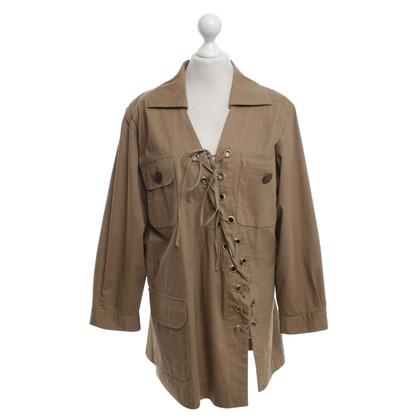 Yves Saint Laurent Kleid in Braun