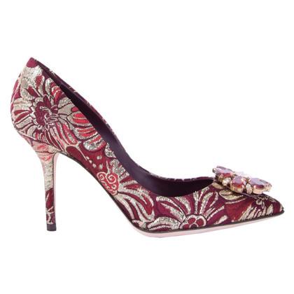 Dolce & Gabbana Jacquard pumps BELLUCCI