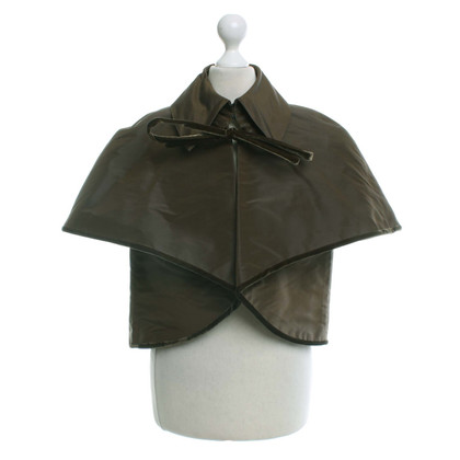 Escada Cape in Khaki