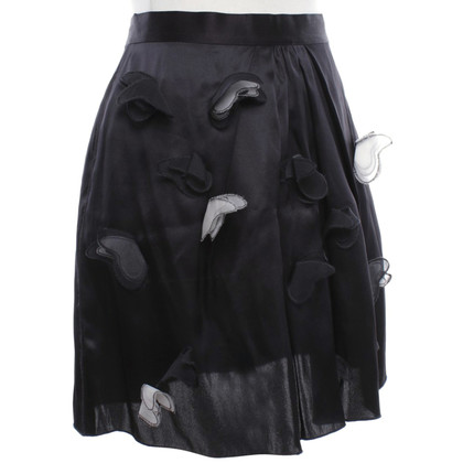 D&G Silk skirt in black