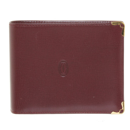 Cartier Card case in Bordeaux