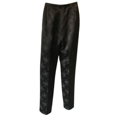 Max Mara Pantaloni da sera sartoriali color nero
