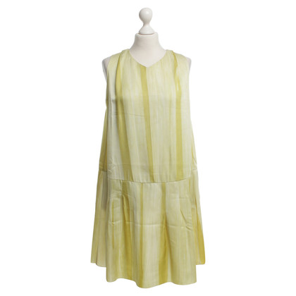 Marni Dress in striped pattern in yellow tones