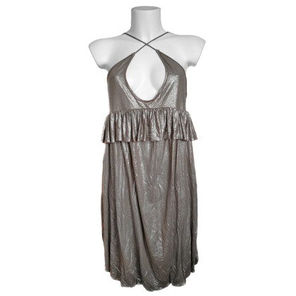 Stella McCartney Dress in metallic fabric