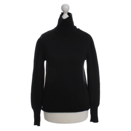Burberry Woll-Pullover in Schwarz