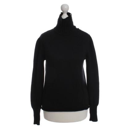 Burberry Wool Sweater in black