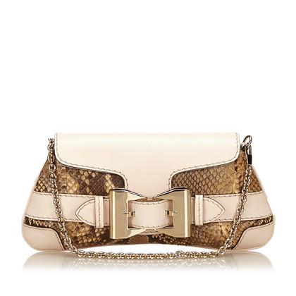 Gucci Handbag made of reptile leather