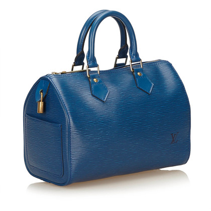 "Louis Vuitton ""Speedy 25 Epi Leder"" in Blau"