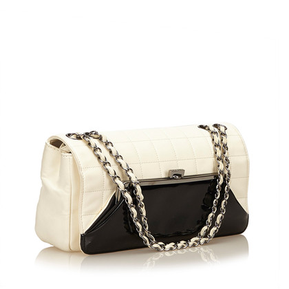 "Chanel ""Choco Bar lamsdarm schouder Bag"""