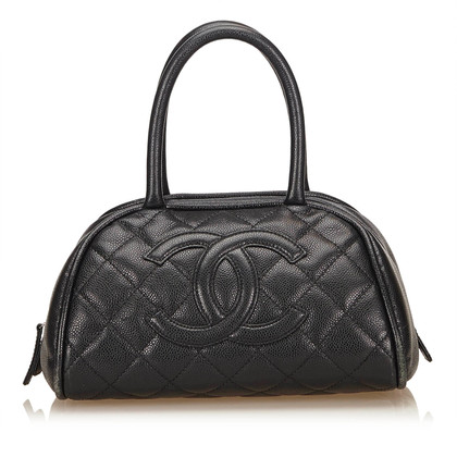 Chanel Schoudertas Caviar Leather