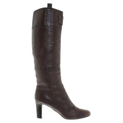 Burberry Boots in dark brown