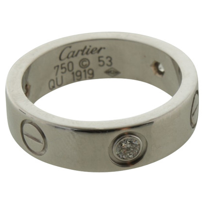 Cartier ''LOVE'' Ring mit Diamanten