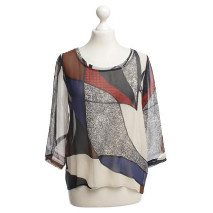 Andere merken Club Monaco - blouse met print motief