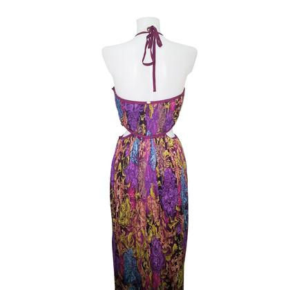 Ermanno Scervino Seidenkleid mit floralem Muster