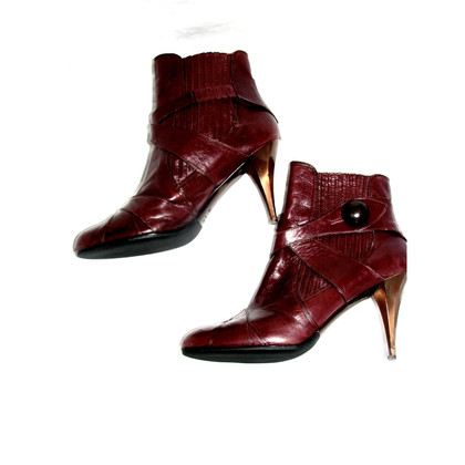 Miu Miu Ankle boots in reddish brown