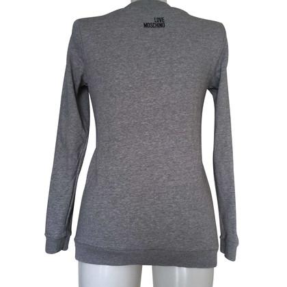 Moschino Love Sweatshirt mit Print