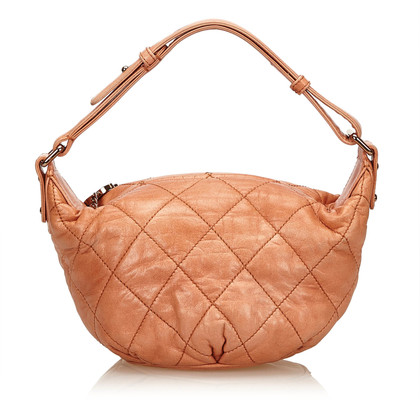 Chanel Matelasse Surpique Leather Handbag