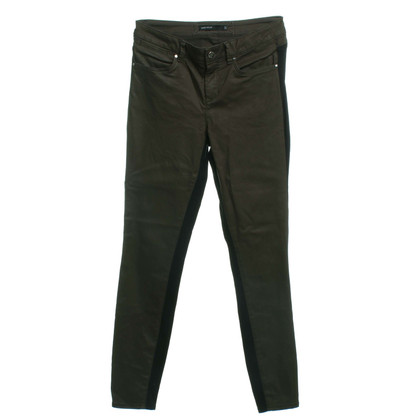 Karen Millen trousers in brown / dark blue