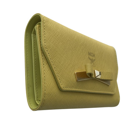 MCM Yellow wallet