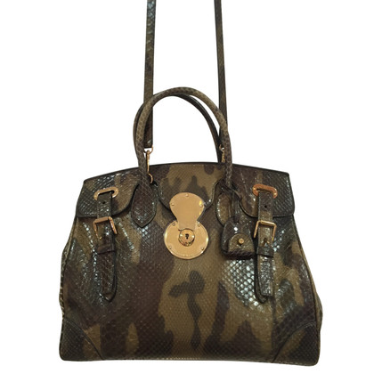 Ralph Lauren Ricky 33 bag in python