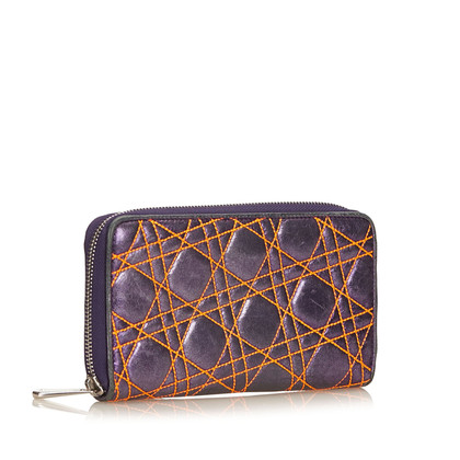 Christian Dior Cannage Long Wallet