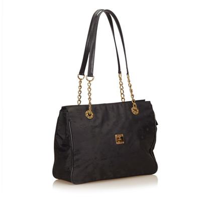 MCM Visetos Jacquard Shoulder Bag