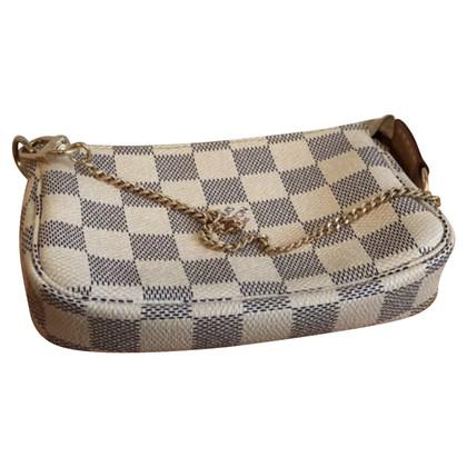 Louis Vuitton Louis Vuitton mini azur canvas hanbag
