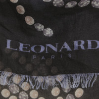 Leonard Cloth with motif print