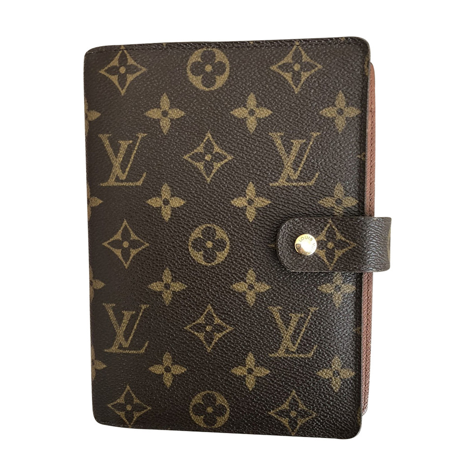 louis vuitton agenda fonctionnel mm monogram canvas buy second hand louis vuitton agenda. Black Bedroom Furniture Sets. Home Design Ideas