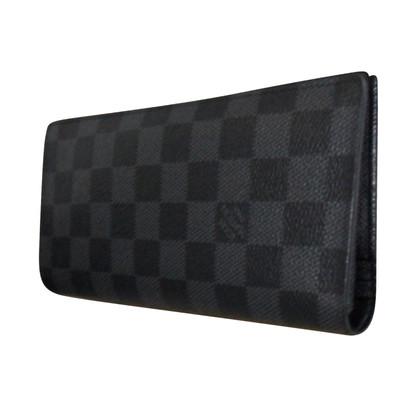 "Louis Vuitton ""Brazza Wallet Damier Graphite Canvas"""