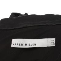 Karen Millen Oberteil in Schwarz