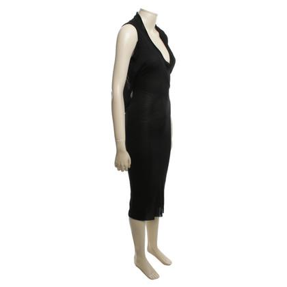 Rick Owens Asymmetrische jersey jurk