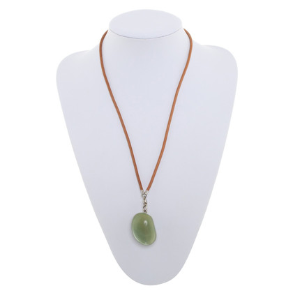 Hermès Chain with green stone