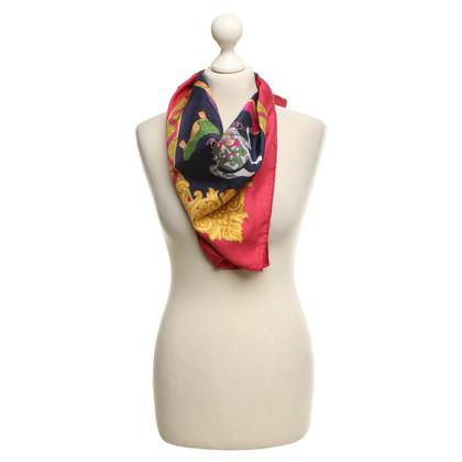 Salvatore Ferragamo Silk scarf with motif