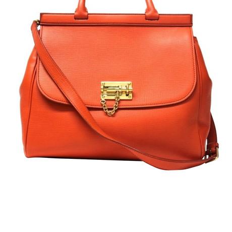 Durchsuchen Verkauf Online Kosten Online Dolce & Gabbana Handtasche Orange Viele Arten Von Online BuLhf