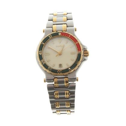 Gucci Armbanduhr in Silberfarben