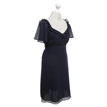 Temperley London Retro-Kleid mit Polka Dots