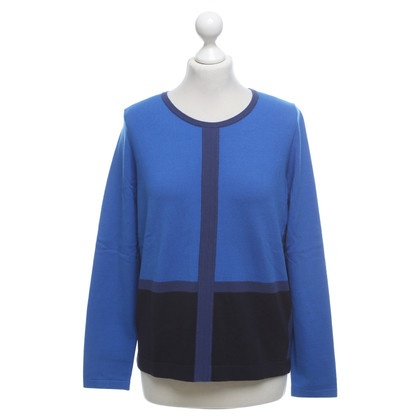 Luisa Cerano Sweater in blue tones