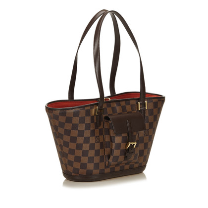 "Louis Vuitton ""Manosque PM Damier Ebene Canvas"""